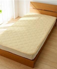吸汗速乾タオル地敷パッド 敷きパッド・ベッドパッドの商品画像