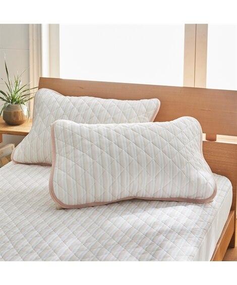 吸汗速乾。消臭先染めワッフル枕パッド同色2枚組 枕カバー・ピローパッド, Pillow covers(ニッセン、nissen)