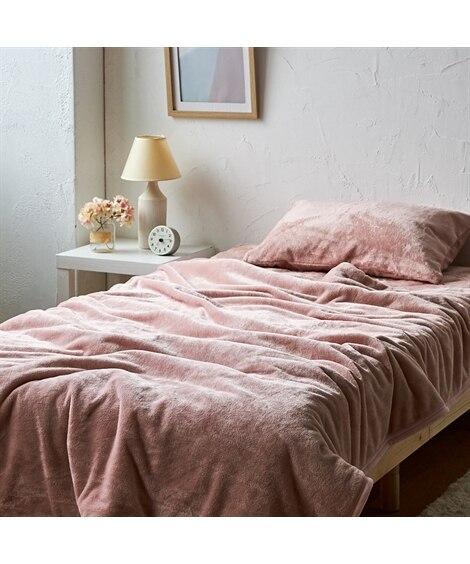 ふわふわの肌ざわり 2枚合わせ毛布(抗菌防臭・防ダニわた入り)(Coco Feel) 毛布・ブランケット, Beddings, 寝具(ニッセン、nissen)