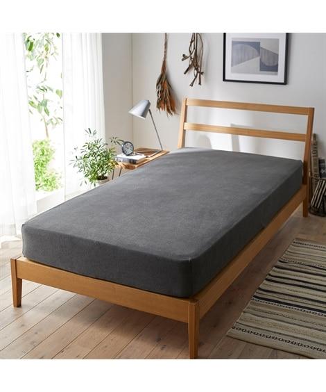 綿100%タオル地のびのびシーツ(マットレス・敷布団兼用) ベッドシーツ・敷布団カバー, Bedding Duvet Covers(ニッセン、nissen)