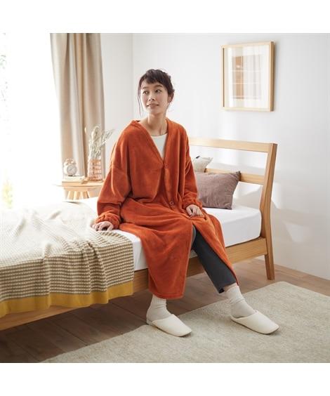 マイクロふんわり着る毛布(Vネック) 毛布・ブランケット, Beddings, 寝具(ニッセン、nissen)