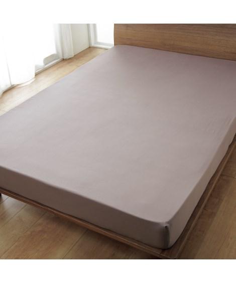 綿100%サテン織りベッドシーツ(マットレス用) ベッドシー...