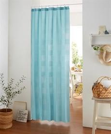 【新色追加♪】パタパタたためて幅丈調節出来る2Way間仕切りカーテン のれん・カフェカーテンの商品画像
