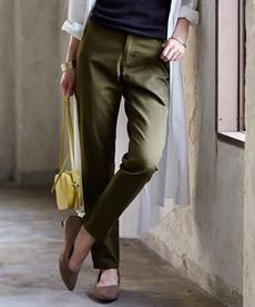 <ニッセン> ゆるフィットパンツ(股下70cm) (レディースパンツ)pants 1