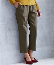<ニッセン> ゆるフィットパンツ(股下70cm) (レディースパンツ)pants 3