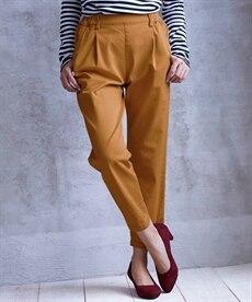 <ニッセン> ゆるフィットパンツ(股下70cm) (レディースパンツ)pants 4