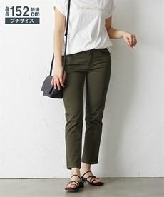 <ニッセン> ゆるフィットパンツ(股下70cm) (レディースパンツ)pants 11