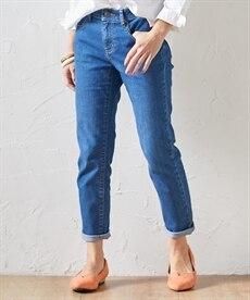 <ニッセン> ゆるフィットパンツ(股下70cm) (レディースパンツ)pants 16