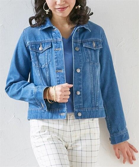 小さいサイズ デニムジャケット コート