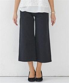 <ニッセン> ゆるフィットパンツ(股下70cm) (レディースパンツ)pants 22
