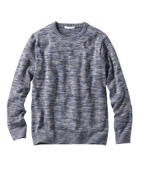 マルチカラークルーネックセーター (ニット・セーター)Swe...