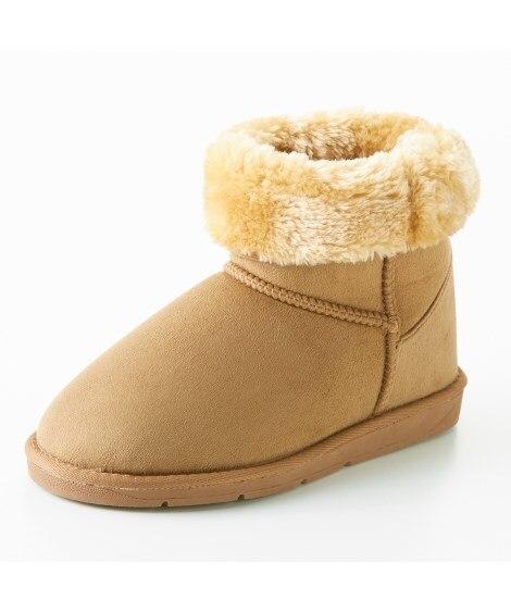 ムートン調ブーツ(ワイズ4E) ブーツ・ブーティ, Boot...
