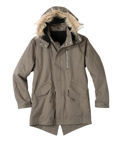 裏ボア付モッズコート コート