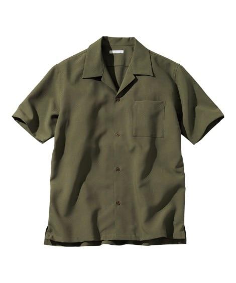 オープンカラー半袖シャツ カジュアルシャツ, Shirts
