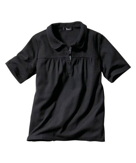 【女性大きいサイズ】 UVカット半袖ポロシャツ 【大きいサイ...