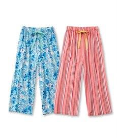 <ニッセン> リラックスルームパンツ2枚組 (パジャマ・ルームウェア)Sleepwear 2