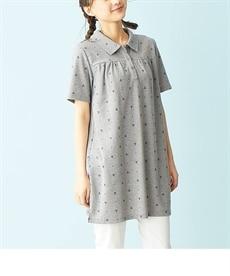 <ニッセン> 吸汗速乾。UVカット半袖ポロシャツ (大きいサイズレディース)plus size 3