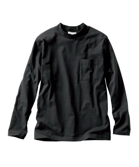 ハイネック長袖Tシャツ Tシャツ・カットソー...