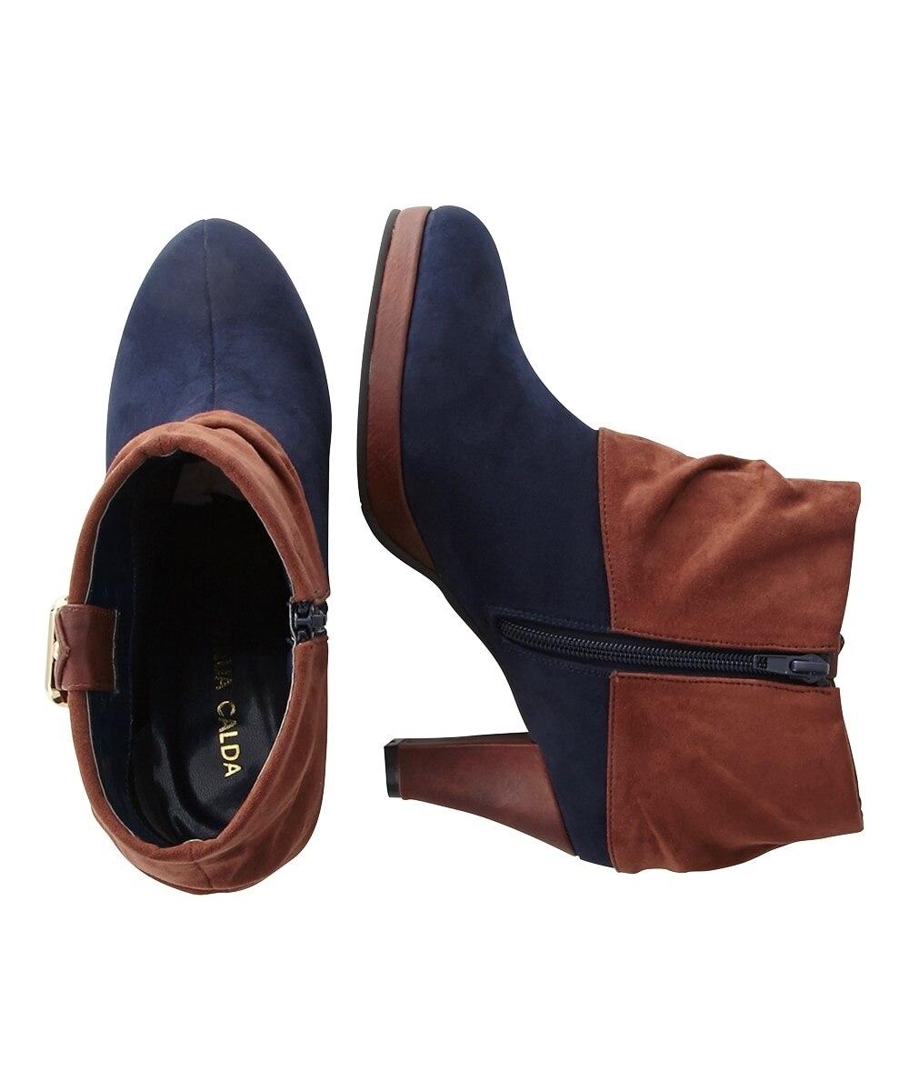 8f3dfde71e1667 サイド バック; ベルトデザインショートブーツ(低反発中敷)(ワイズ4E)(ブーツ