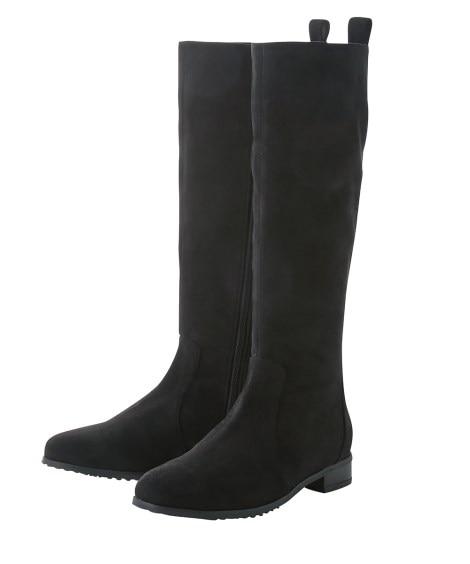 ロングブーツ(低反発中敷)(選べる履き口) ブーツ・ブーティ