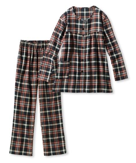 綿100%ビエラパジャマ 女性パジャマ・ルームウェアセット