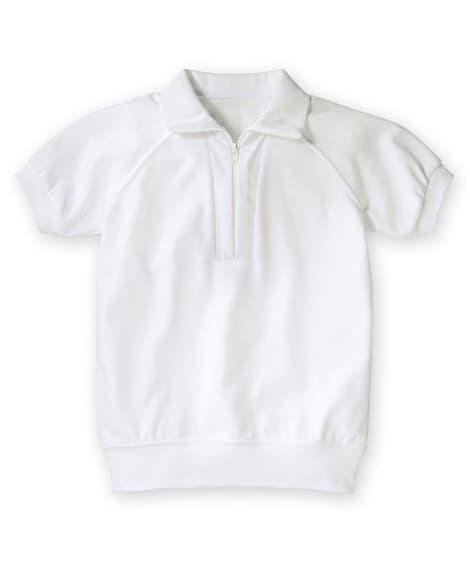 <ニッセン> 【子供服】 吸汗速乾。抗菌防臭。UVカット。衿付。半袖 体操服シャツ 【キッズ】体操服 トップス 価格:1609円商品画像
