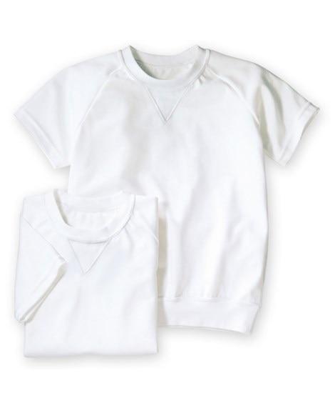 【子供服】 丸首。半袖 体操服シャツ2枚組 【キッズ】体操服...