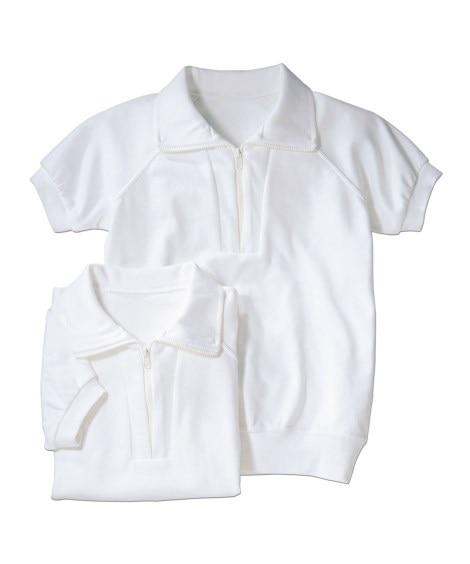 衿付。半袖 体操服シャツ2枚組 体操服