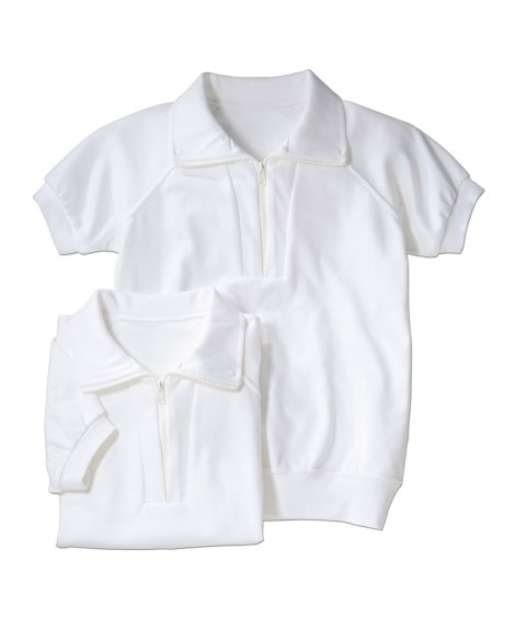 【ゆったりサイズ】衿付。半袖 体操服シャツ2枚組 体操服...
