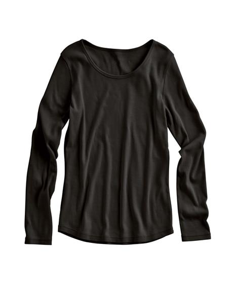 【小さいサイズ】 小さいサイズ 綿100%クルーネック長袖T...