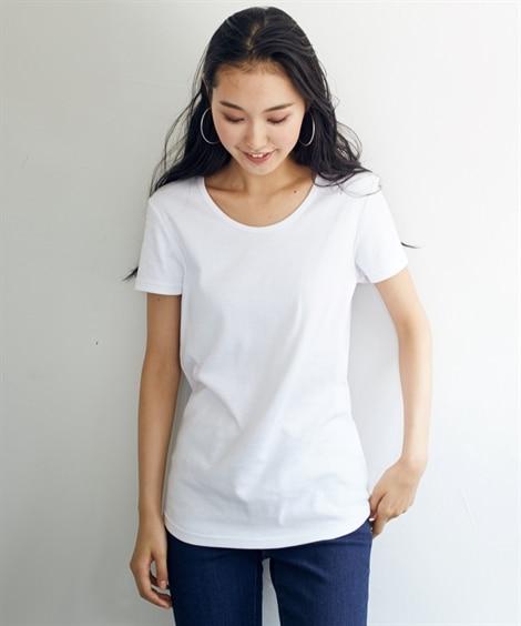 トールサイズ 綿100%半袖クルーネックTシャツ Tシャツ・...