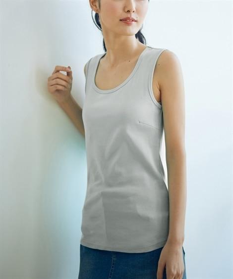 トールサイズ 綿100%タンクトップ