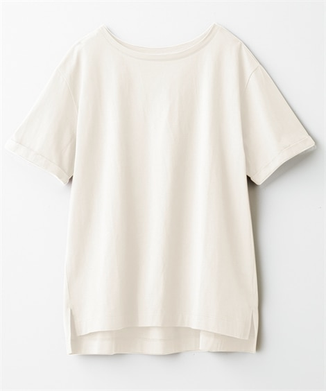 【Answer to 40】上半身の困ったをカバー!綿100%Tシャツ(Tシャツ・カットソー)21