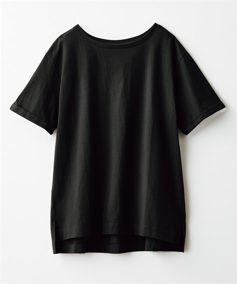 【Answer to 40】上半身の困ったをカバー!綿100%Tシャツ(Tシャツ・カットソー)23