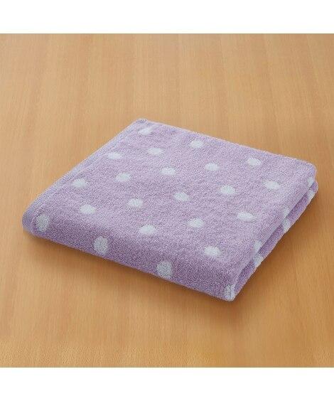 ふわふわジャカード織デザインバスタオル バスタオル