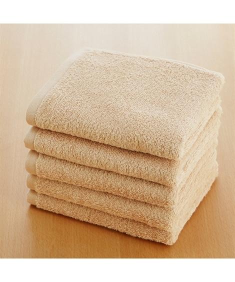 肌ざわりのいい中厚手フェイスタオル5枚セット(デイリーシリーズ) フェイスタオル, Towels(ニッセン、nissen)