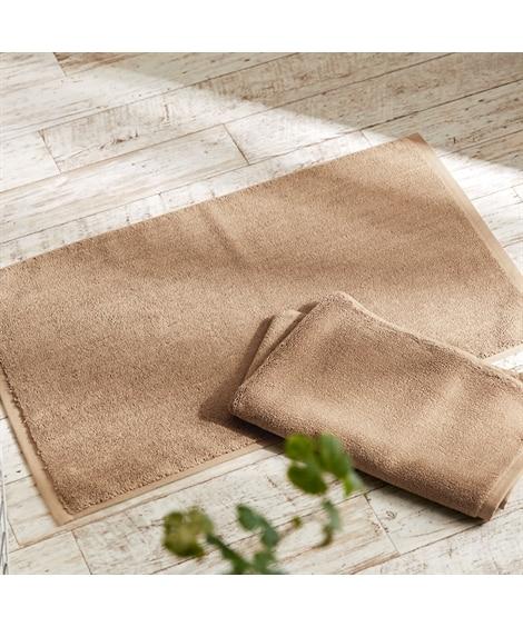 素足が気持ちいいタオル地バスマット同色2枚セット バスマット, Bath goods(ニッセン、nissen)