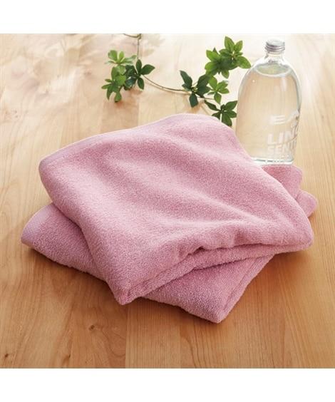部屋干しにおすすめ抗菌防臭バスタオル同色2枚セット(デイリーシリーズ) バスタオル, Towels(ニッセン、nissen)