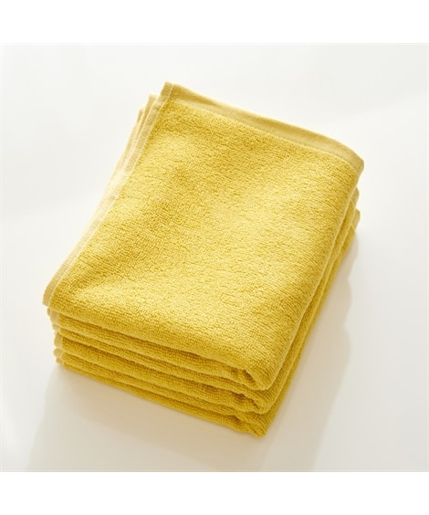 鮮やかカラーの吸水スリムバスタオル 同色3枚セット バスタオル, Towels(ニッセン、nissen)