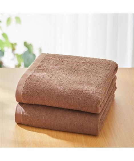 【超薄手】大判バスタオル同色2枚セット(デイリーシリーズ) バスタオル, Towels(ニッセン、nissen)