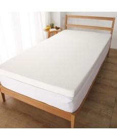 厚みが選べる高反発マットレストッパー(洗えるカバー) 折りたたみマットレス・ベッドマット・布団マットの商品画像
