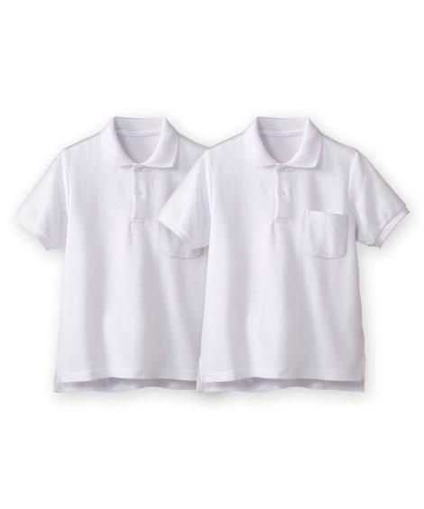 半袖ポロシャツ2枚組(ポケットあり) 制服...