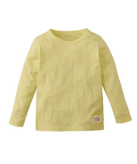 【子供服】 男の子女の子 綿100%シンプルTシャツ 【キッ...