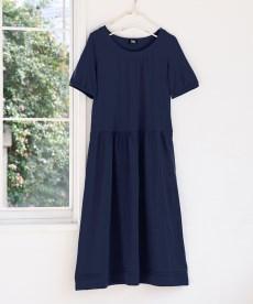<ニッセン> 5分袖テレコ素材トップス (大きいサイズレディース)Tシャツ・カットソー 5