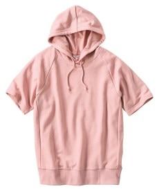 <ニッセン> 5分袖テレコ素材トップス (大きいサイズレディース)Tシャツ・カットソー 12