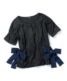 <ニッセン> 5分袖カットソー切替デザインチュニック (大きいサイズレディース)チュニックplus size 29