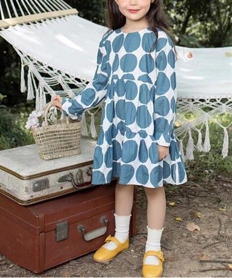 シャツワンピース(女の子 子供服) ワンピース, Kids'...