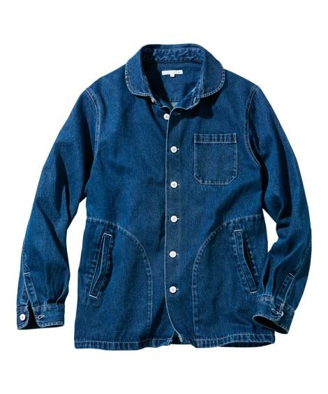 デニムシャツジャケット カジュアルシャツ, Shirts, テレワーク, 在宅, リモート