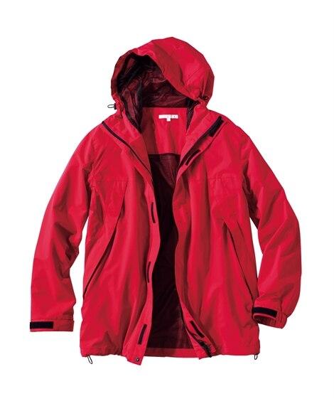 <ニッセン> 【紳士服】 防風。ストレッチマウンテンパーカー 大きいサイズメンズ メンズジャケット・ブルゾン 価格:8629円商品画像