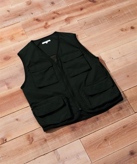 カバン要らずメッシュベスト ベスト, Vest